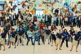 Dubai Airport Flash Mob