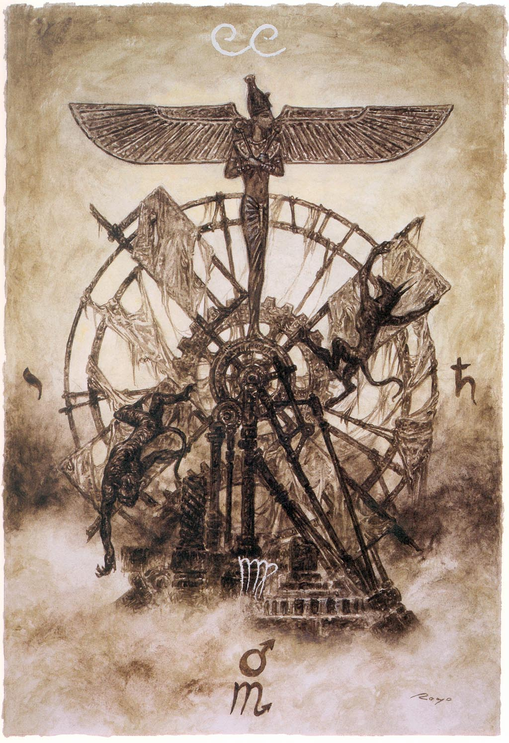 Major Arcana - The Wheel of Fortune